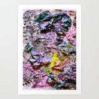 Yellowing Art Print
