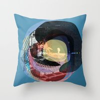 The Abstract Dream 16 Throw Pillow