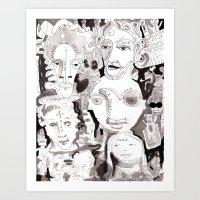 Loophole Art Print