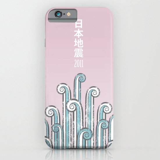 Japan Earthquake 2011 no.2 iPhone & iPod Case