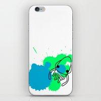 Calamar iPhone & iPod Skin