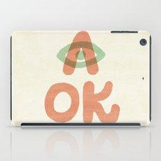 A OK iPad Case