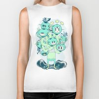 Many Heads Are Better Th… Biker Tank