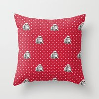 Lolita Bunny Throw Pillow