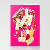Mmmm Sweets Stationery Cards