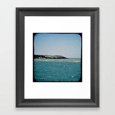 Sound to Shore Framed Art Print