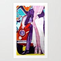 Prosecco Art Print