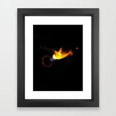 Working with glass 2 Framed Art Print