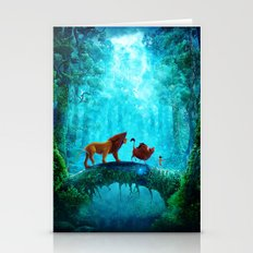 King Of Jungle Stationery Cards