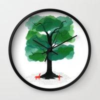 Man & Nature - The Tree … Wall Clock