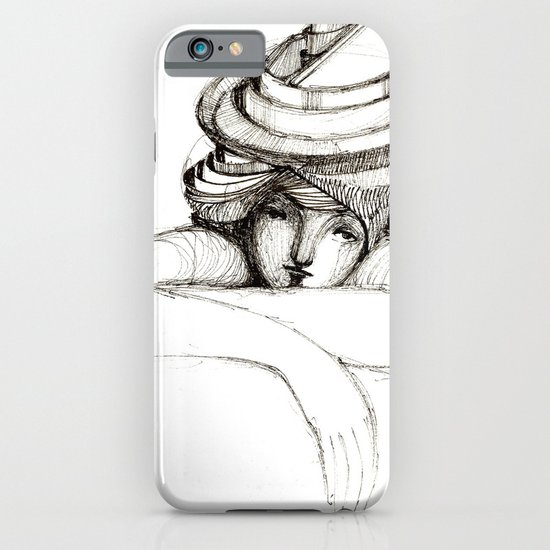 waiting iPhone & iPod Case