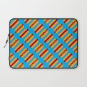 Pixel Hot Dogs Laptop Sleeve