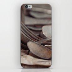 SPOONS II iPhone & iPod Skin
