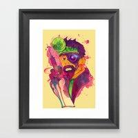 Dr. FraCryStein Framed Art Print