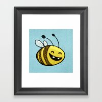 Bee 2 Framed Art Print