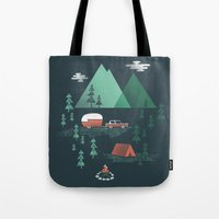 Pitch a Tent Tote Bag