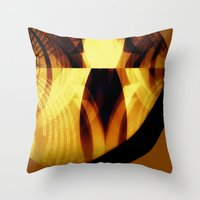 The Moon Is Almost Full … Throw Pillow