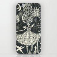 Little Goddess iPhone & iPod Skin