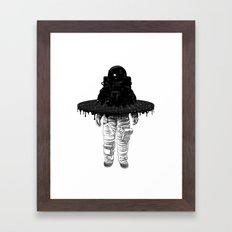 Through the Black Hole Framed Art Print