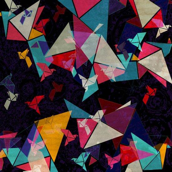Origami Flight Art Print