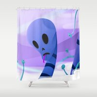 Just Like Paradise Shower Curtain