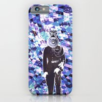 General Gears on blue iPhone 6 Slim Case
