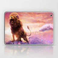 Roaring Space Lion Laptop & iPad Skin