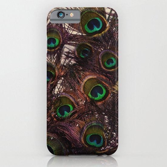 Peacock Feathers iPhone & iPod Case
