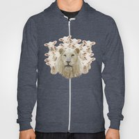 Lambs led by a lion Hoody
