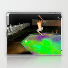 Jump for Joy. Land for Safety. Laptop & iPad Skin