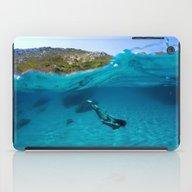 St Tropez Sea One iPad Case