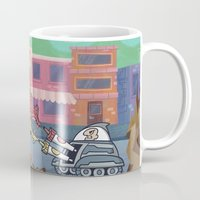 Hot Dog Attack! Mug