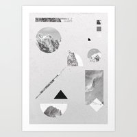 Monochromatic Art Print