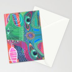 Whale of a Bird Stationery Cards
