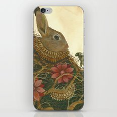 The Rabbit and the Bee iPhone & iPod Skin