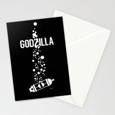 GODZILLA Stationery Cards