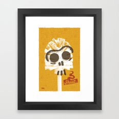 Toilet Brush Framed Art Print
