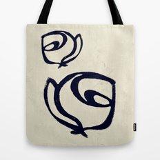 Flowers, Mother-Daughter Tan Tote Bag