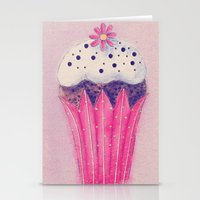 Cupcake Stationery Cards