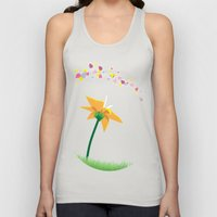 Flower Unisex Tank Top