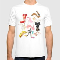 Shoes Full Time Love Mens Fitted Tee White SMALL