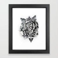 Venom Fame Framed Art Print