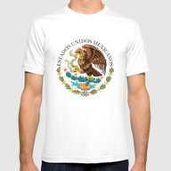 Mexican Seal Authentic V… Mens Fitted Tee White SMALL