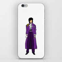 Prince - Purple Rain iPhone & iPod Skin