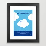 No234 My Truman Show Min… Framed Art Print