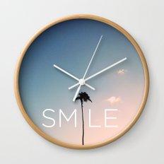 Palm tree Smile Wall Clock