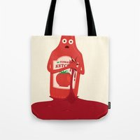 Fake Blood Tote Bag