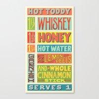 Hot Toddy Canvas Print