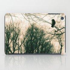 Crow Blur iPad Case