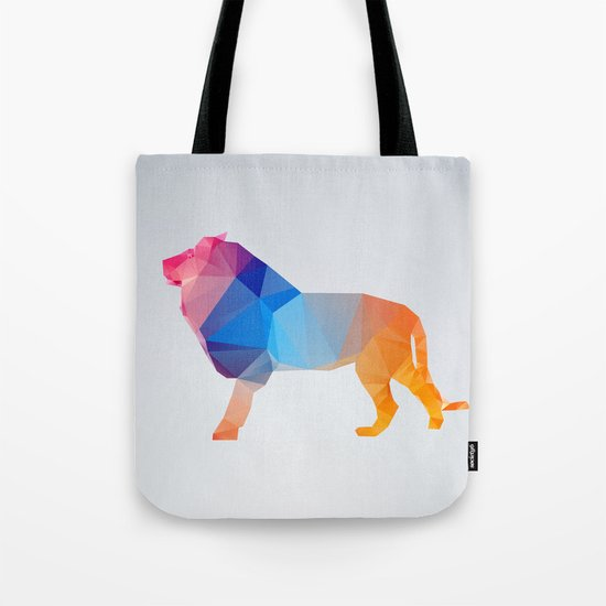 Glass Animal Series - Lion Tote Bag